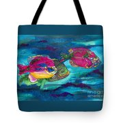 Cherry Toppers Tote Bag by Kathy Braud