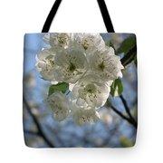Cherry Tree Petals Tote Bag
