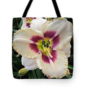 Cherryberry Daylily Tote Bag