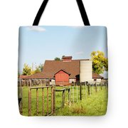 Cherryvale Barn Boulder Tote Bag