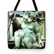 Cherub At Play Tote Bag