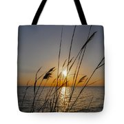 Chesapeak Bay At Sunrise Tote Bag