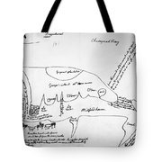 Chesapeake Bay, 1776 Tote Bag