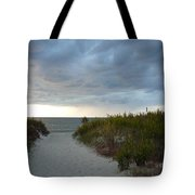 Chesapeake Bay Storm Tote Bag