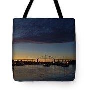 Chesapeake City Twilight Tote Bag