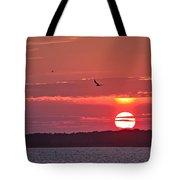 Chesapeake Sunset 1 Tote Bag