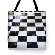 Chess In The Park Tote Bag