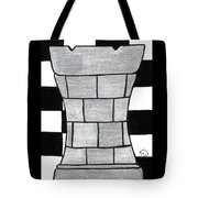 Chess Rook Tote Bag