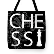 Chess The Game Of Kings Tote Bag by Daniel Hagerman