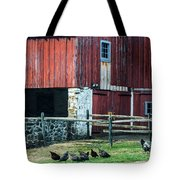 Chester County Chickens Tote Bag