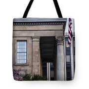 Chester County Court House-side View Tote Bag