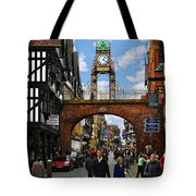 Chester Eastgate Clock Tote Bag