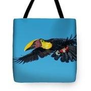 Chestnut-mandibled Toucan Flying Tote Bag