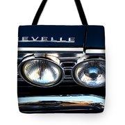 Chevelle Headlight Tote Bag