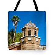 Cheveron Domed Tower 1 Tote Bag