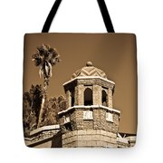 Cheveron Domed Tower 2 Tote Bag