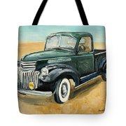 Chevrolet Art Deco Truck Tote Bag