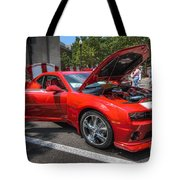 Chevrolet Camaro Tote Bag