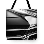 Chevrolet Chevelle Ss 398 Grille Emblem Tote Bag
