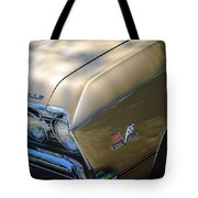 Chevrolet Chevelle Ss Headlight Emblems Tote Bag