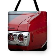 Chevrolet Chevelle Ss Taillight Emblem 3 Tote Bag
