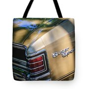 Chevrolet Chevelle Ss Taillight Emblems Tote Bag