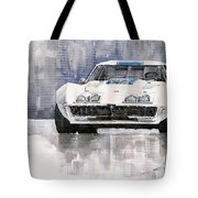 Chevrolet Corvette C3 Tote Bag