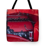Chevrolet Corvette Engine Tote Bag