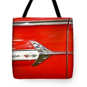 Chevrolet Impala Classic In Red Tote Bag