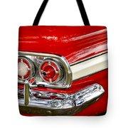 Chevrolet Impala Classic Rear View Tote Bag