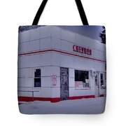 Chevron Lowville Ny Tote Bag