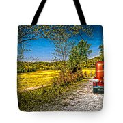 Chevy 34 Sweet Country Road Tote Bag