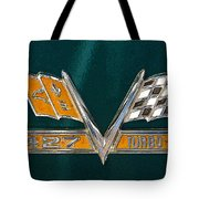 Chevy 427 Turbo Jet Tote Bag