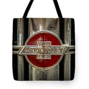 Chevy Emblem Tote Bag by Paul Freidlund