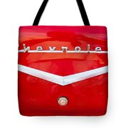 Chevy Logo 1957 Tote Bag