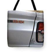 Chevy Nova Ss Emblem And Tail Light Tote Bag