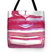 Chevy - Red Tote Bag