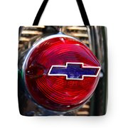 Chevy Red White And Blue Tote Bag