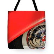 1955 Chevy Rim Tote Bag