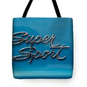 Chevy Super Sport II Emblem Tote Bag
