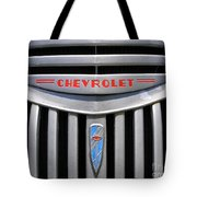 Chevy Truck Grill Tote Bag