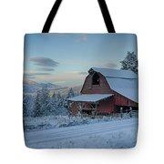 Chewelah Barn Tote Bag