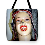 Chewing Gum Smile Tote Bag