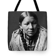 Cheyenne Young Woman Circa 1910 Tote Bag by Aged Pixel
