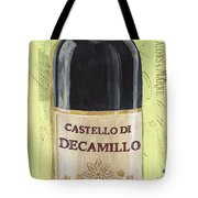 Chianti And Friends Panel 2 Tote Bag