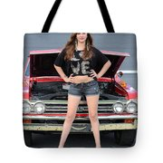Chic Chevelle Tote Bag