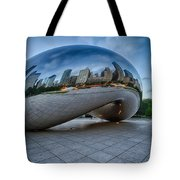 Chicago - Cloudgate Reflections Tote Bag