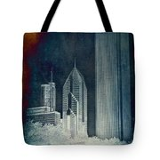 Chicago 4 Tall Shoulders Textured Tote Bag