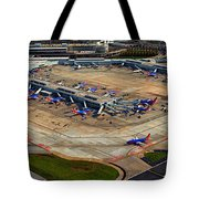 Chicago Airplanes 03 Tote Bag