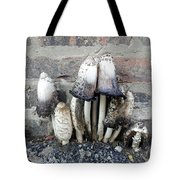 Chicago Alley Shrooms Tote Bag